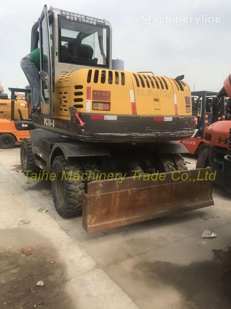KOMATSU PC70-8 wheel excavator