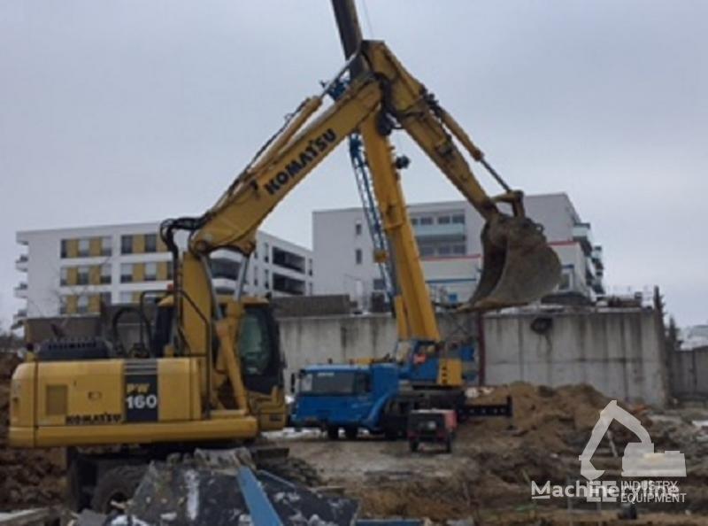 KOMATSU PW 160-7K wheel excavator