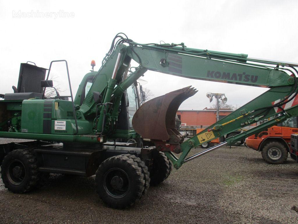KOMATSU PW 170 wheel excavator