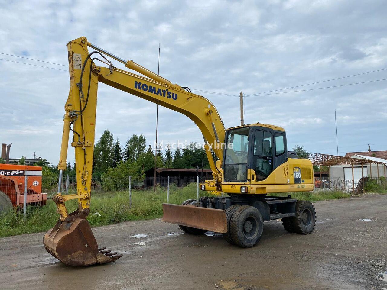 KOMATSU PW160 wheel excavator