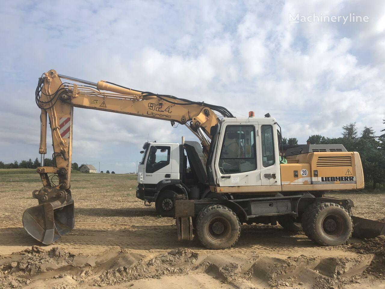 LIEBHERR 924 wheel excavator
