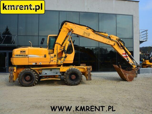 LIEBHERR A 316 wheel excavator