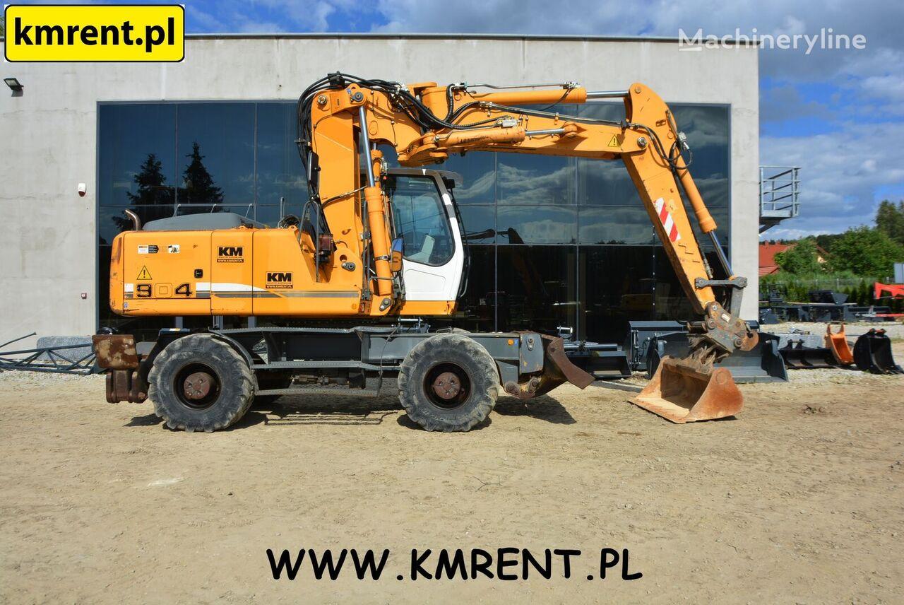 LIEBHERR A 904 C | 900 314 CAT 315 316 318 JCB JS 175 KOMATSU VOLVO 160 1 wheel excavator