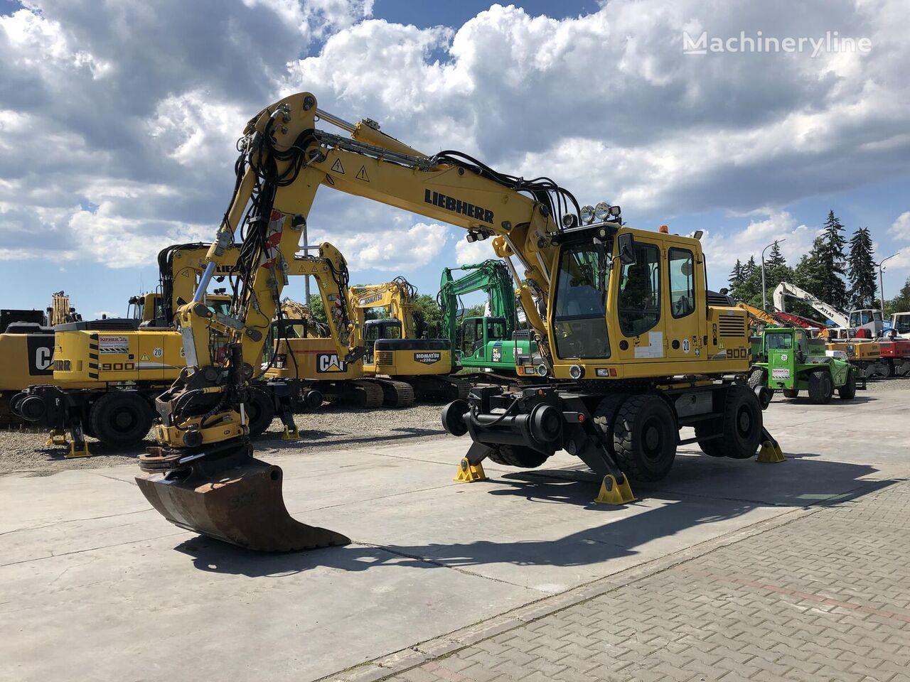 LIEBHERR A900C ZW wheel excavator