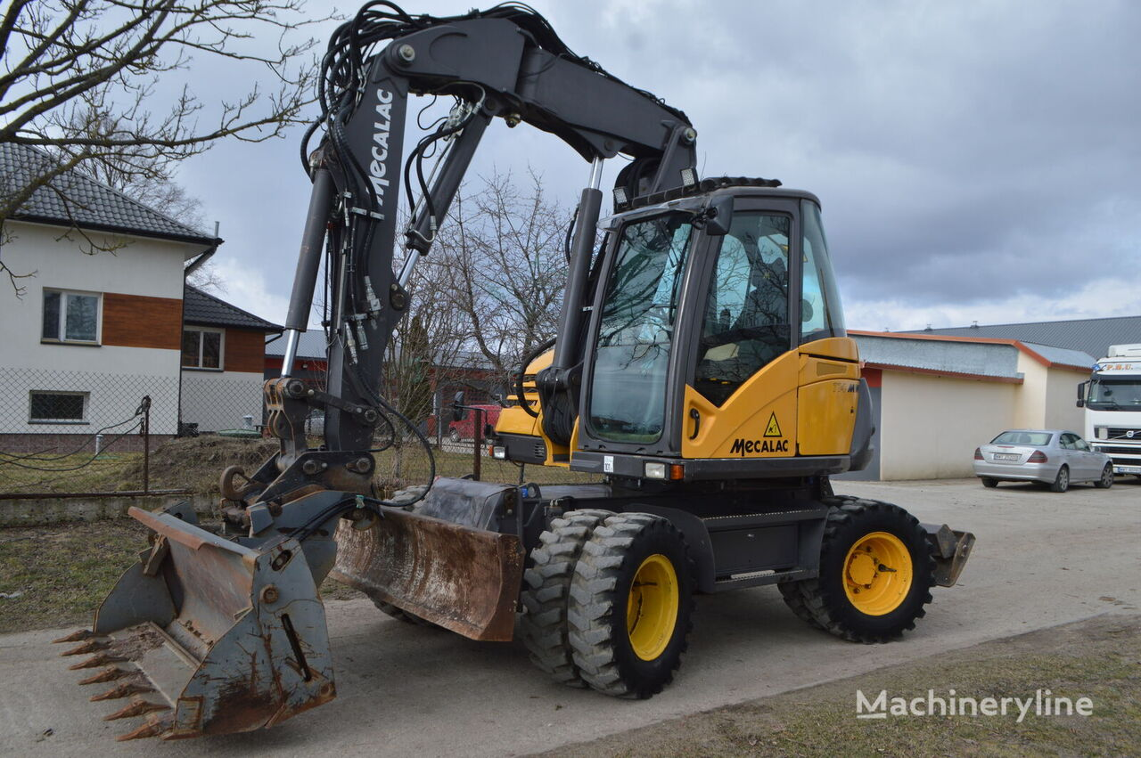 MECALAC 714 MW wheel excavator