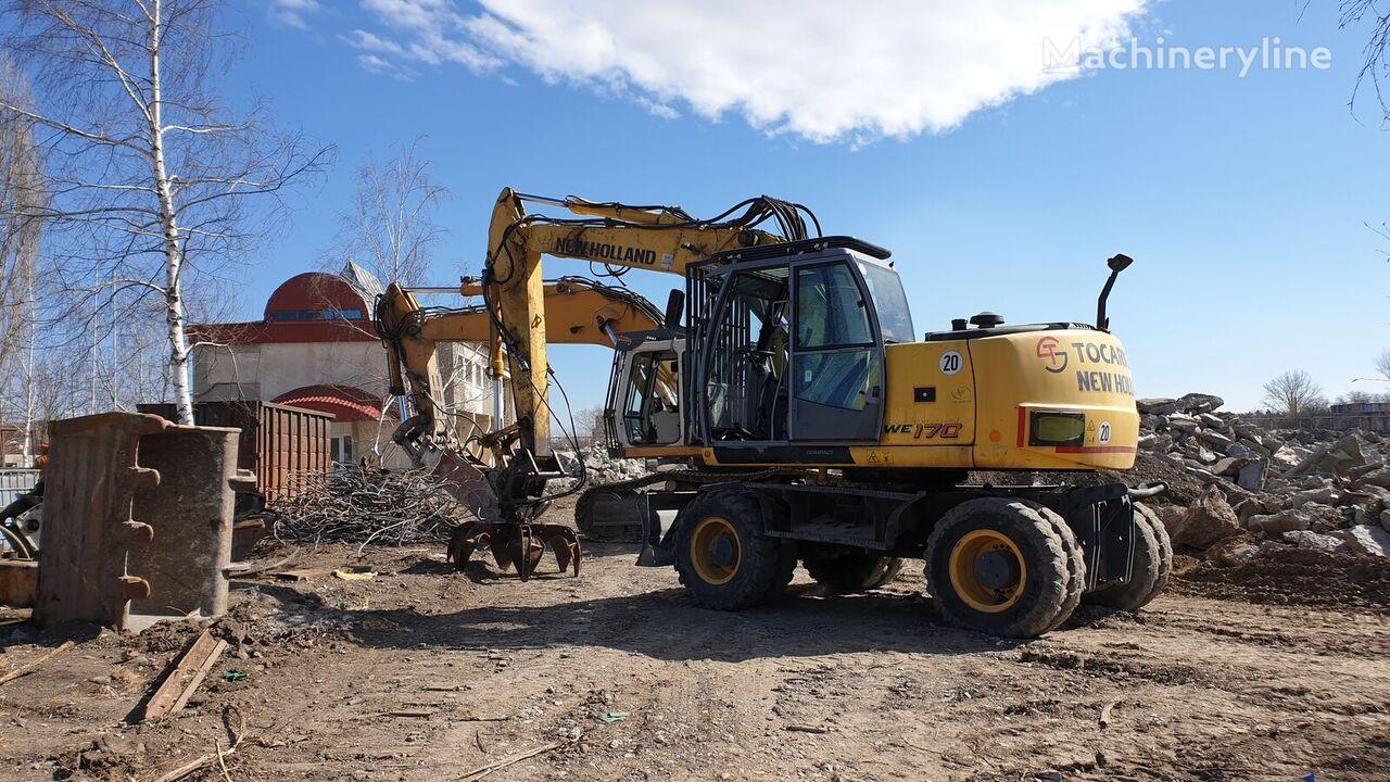 NEW HOLLAND WE170 wheel excavator