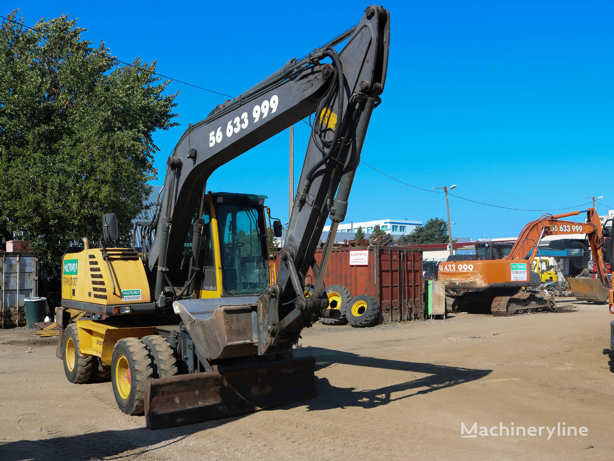 VOLVO EW160 wheel excavator