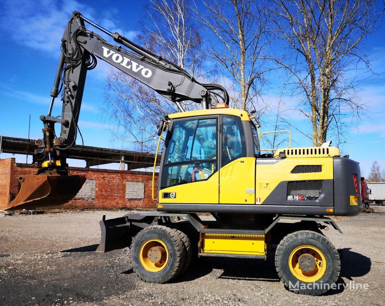 VOLVO W160D wheel excavator