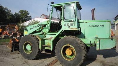 AHLMANN AS 18T wheel loader
