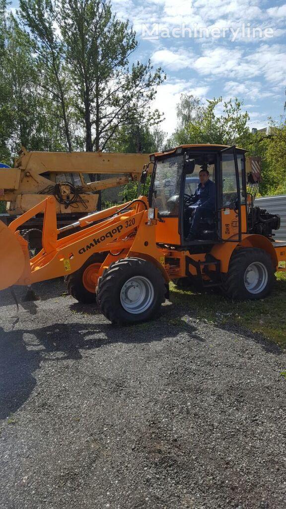 new AMKODOR 320 wheel loader