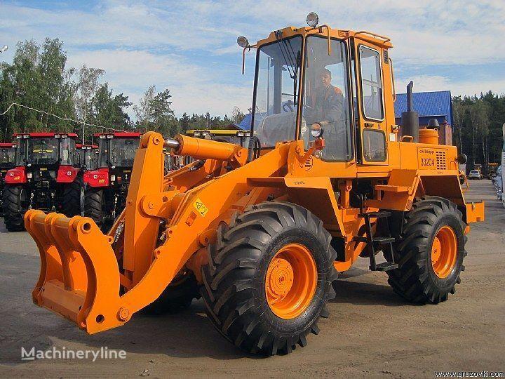 new AMKODOR 332 S4 wheel loader
