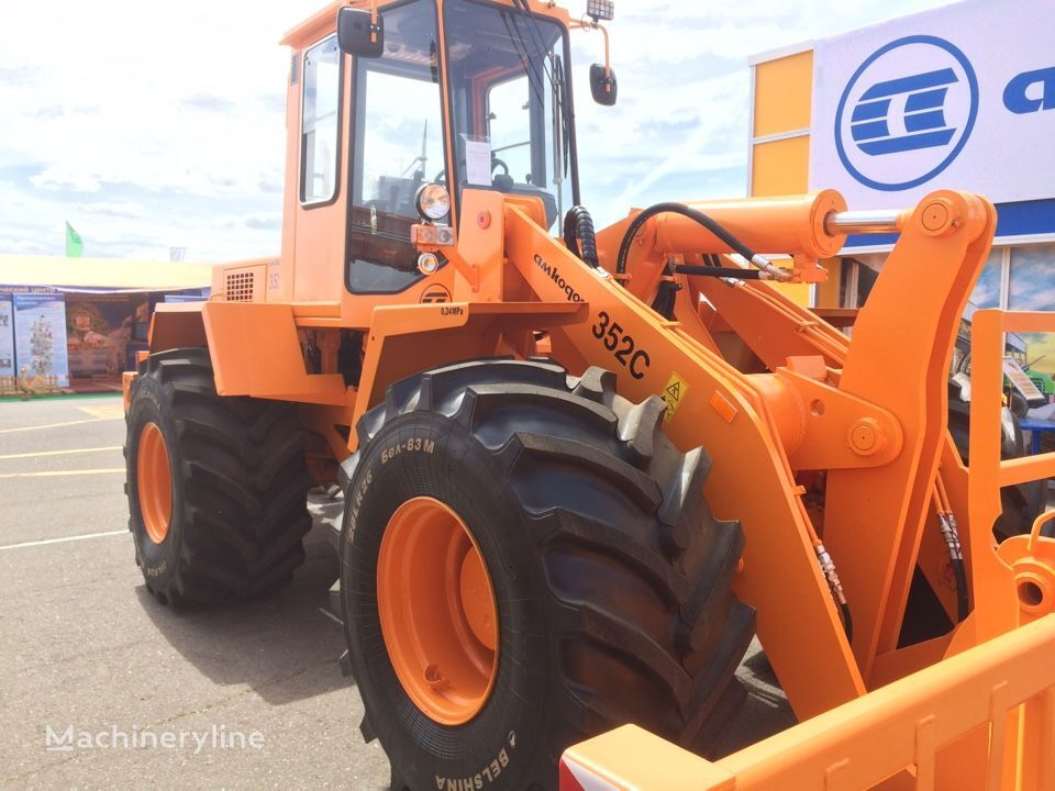 new AMKODOR 352 S wheel loader
