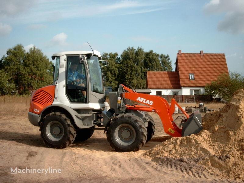 new ATLAS 75e S wheel loader