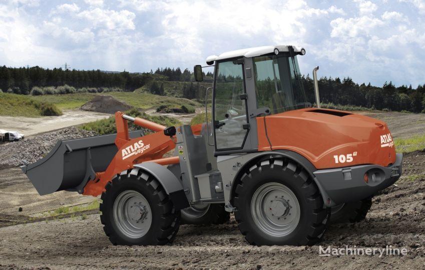 new ATLAS AR 105 e wheel loader