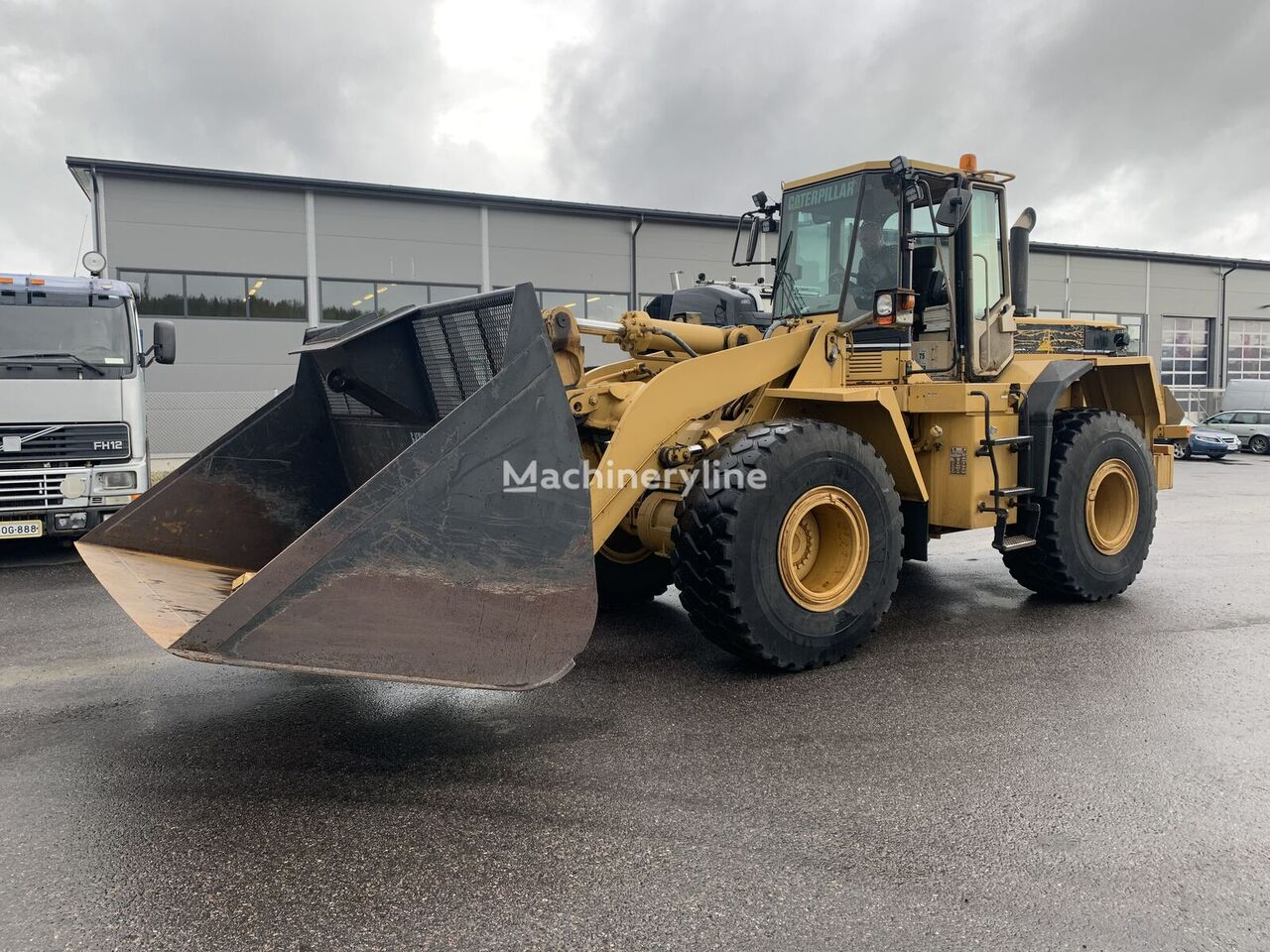 CATERPILLAR 950 F II only 9000 hours Super Condition wheel loader