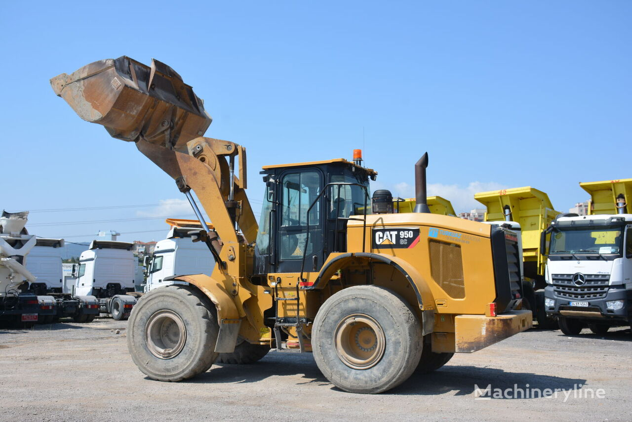 CATERPILLAR 950GC wheel loader