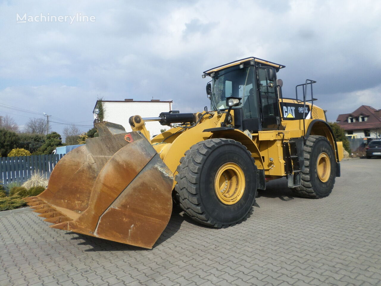 CATERPILLAR 966K wheel loader