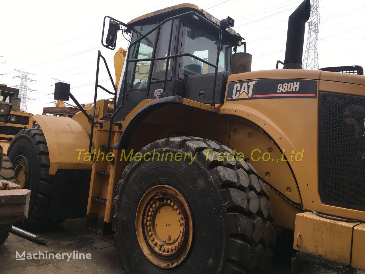 CATERPILLAR 980H wheel loader
