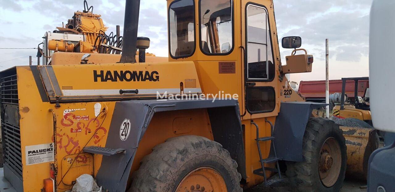 HANOMAG 22D wheel loader