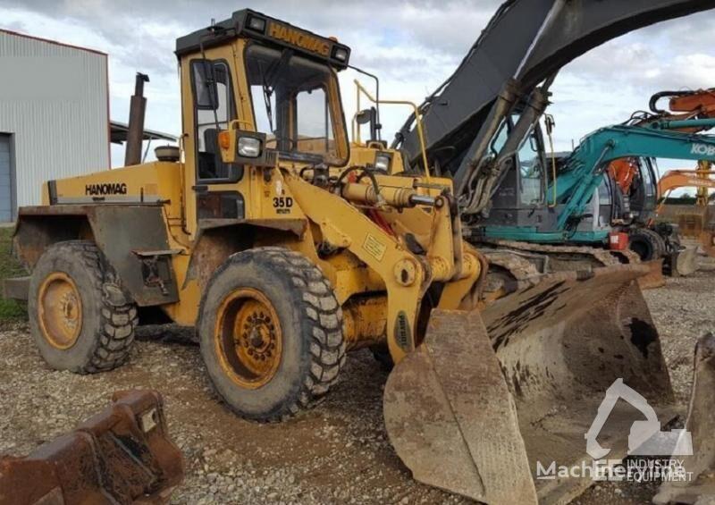 HANOMAG 35 D wheel loader