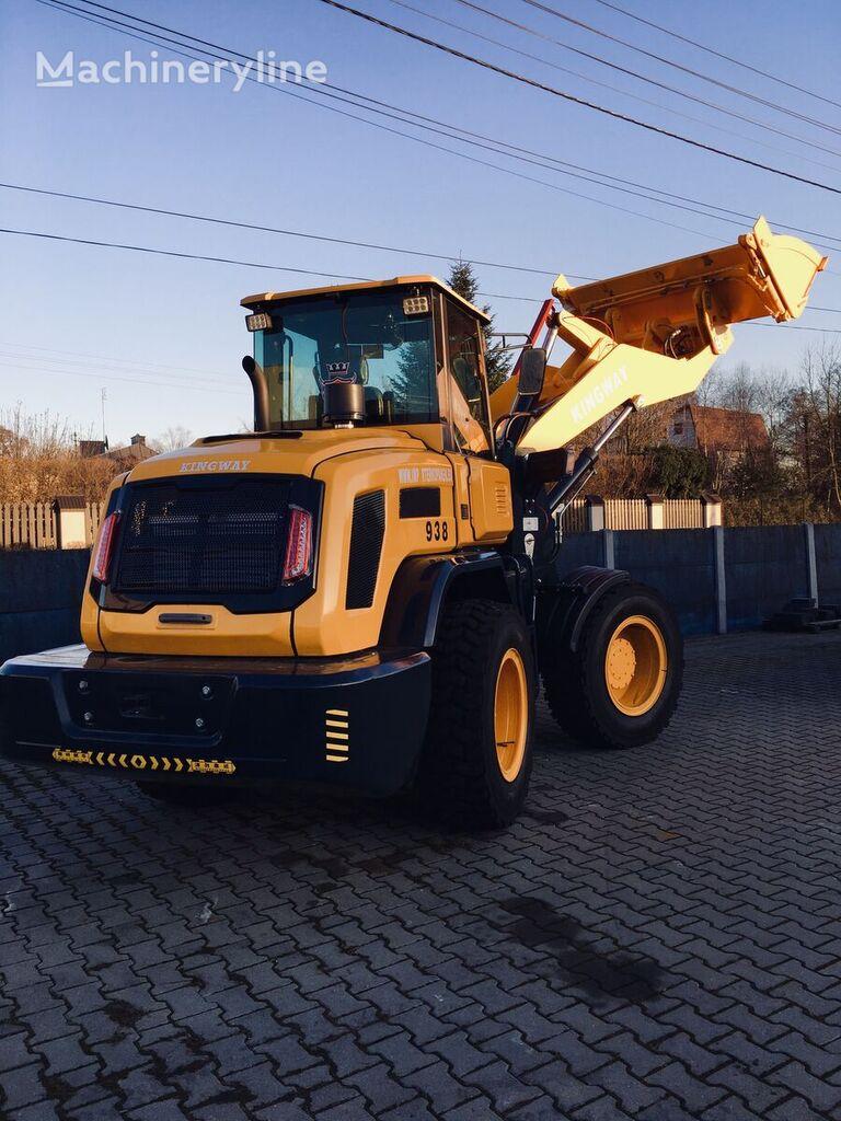 new KINGWAY 938 LUKAS 4x4 wheel loader