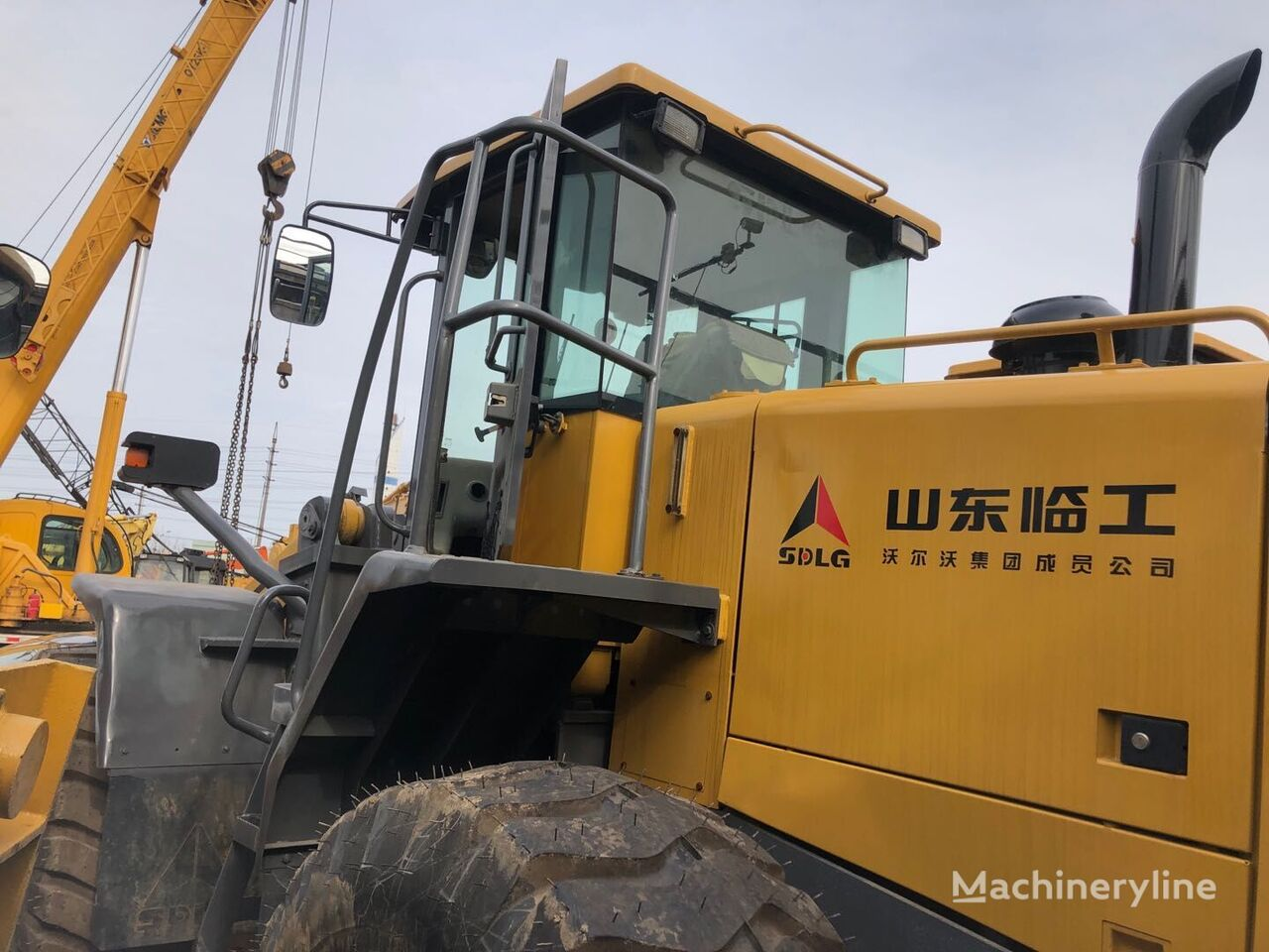 SDLG USED  SDLG  956L  HYDRAULIC  WHEEL  LOADER wheel loader
