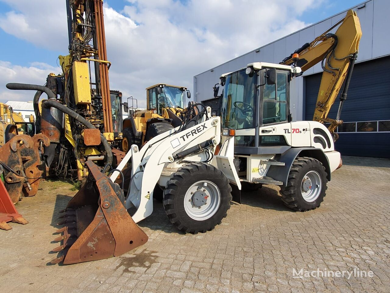 TEREX TL70S wheel loader