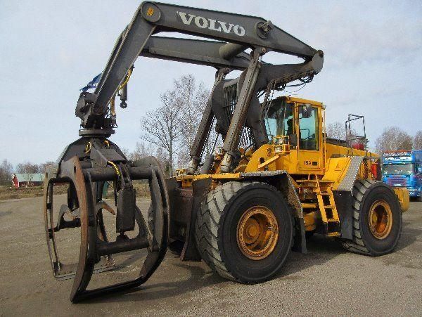 VOLVO L180D HL wheel loader for parts