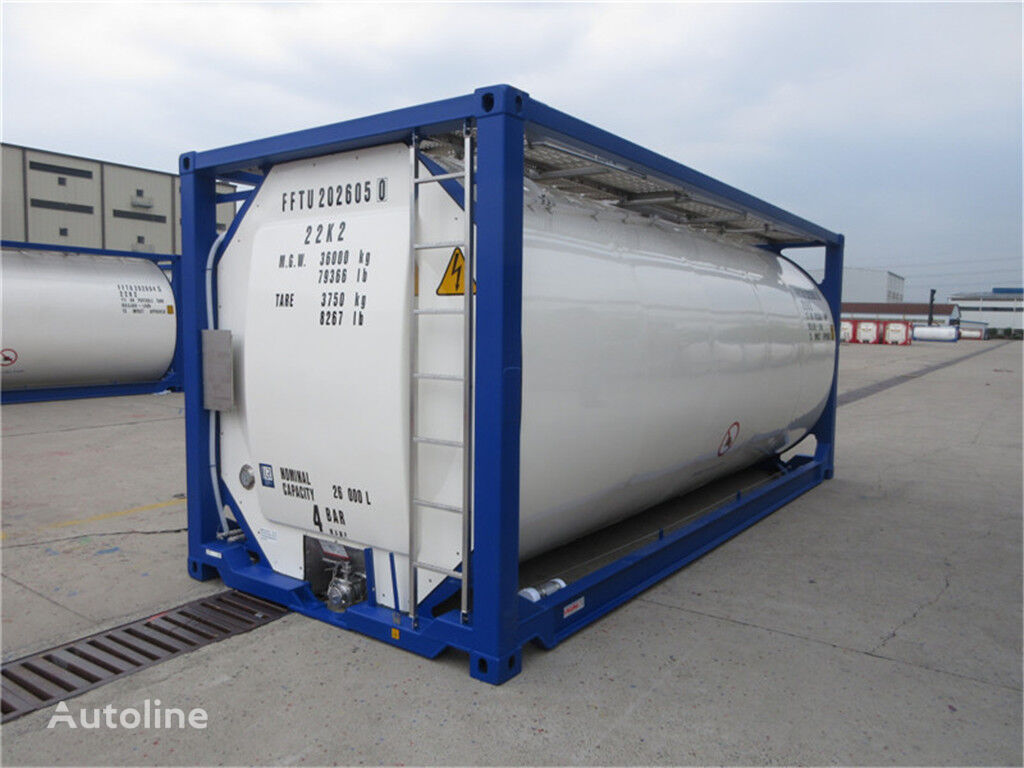 new CIMC  SINGAMAS 20ft tank container