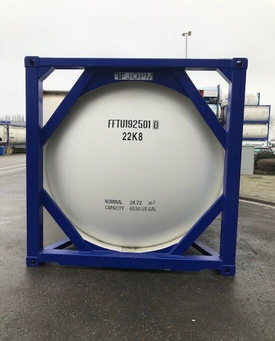 FFT 19-031 20ft tank container