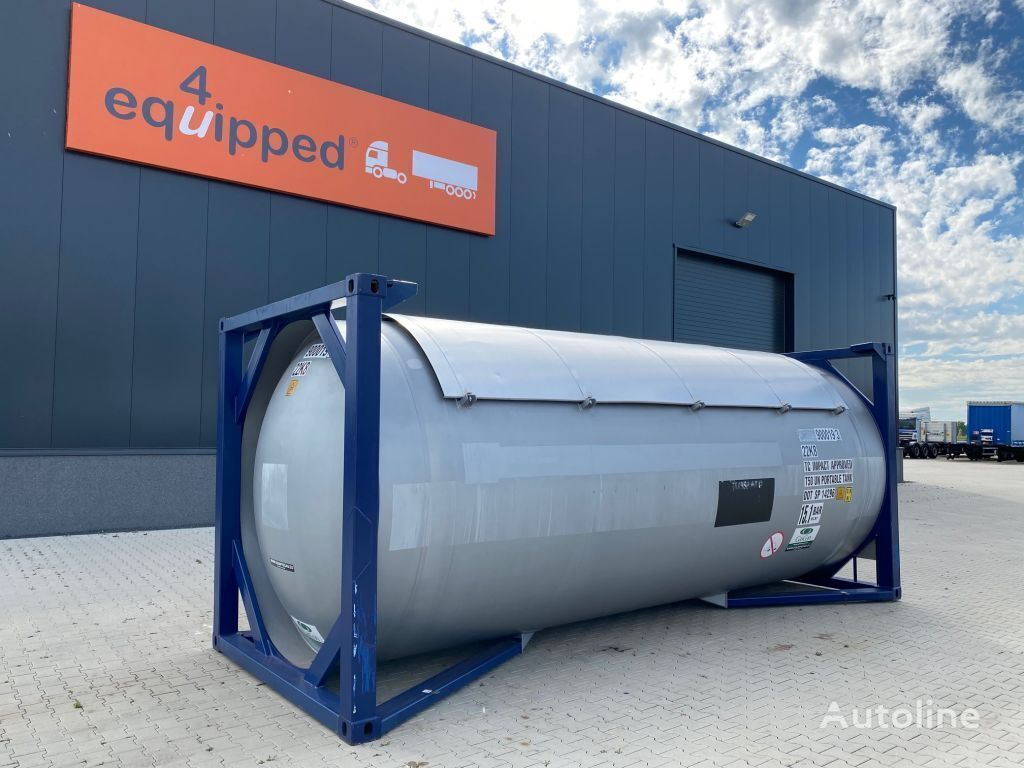 GASCON 20FT, 2016 Gastank, UN PORTABLE, T50, 25.000L, MAWP: 15,1 bar, v 20ft tank container