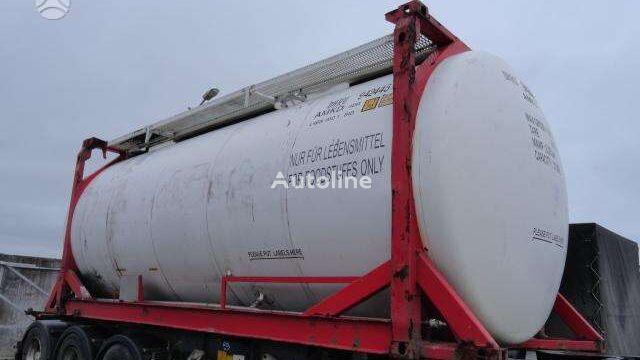 VAN HOOL NUOMA PARDAVIMAS, tanker 20ft tank container