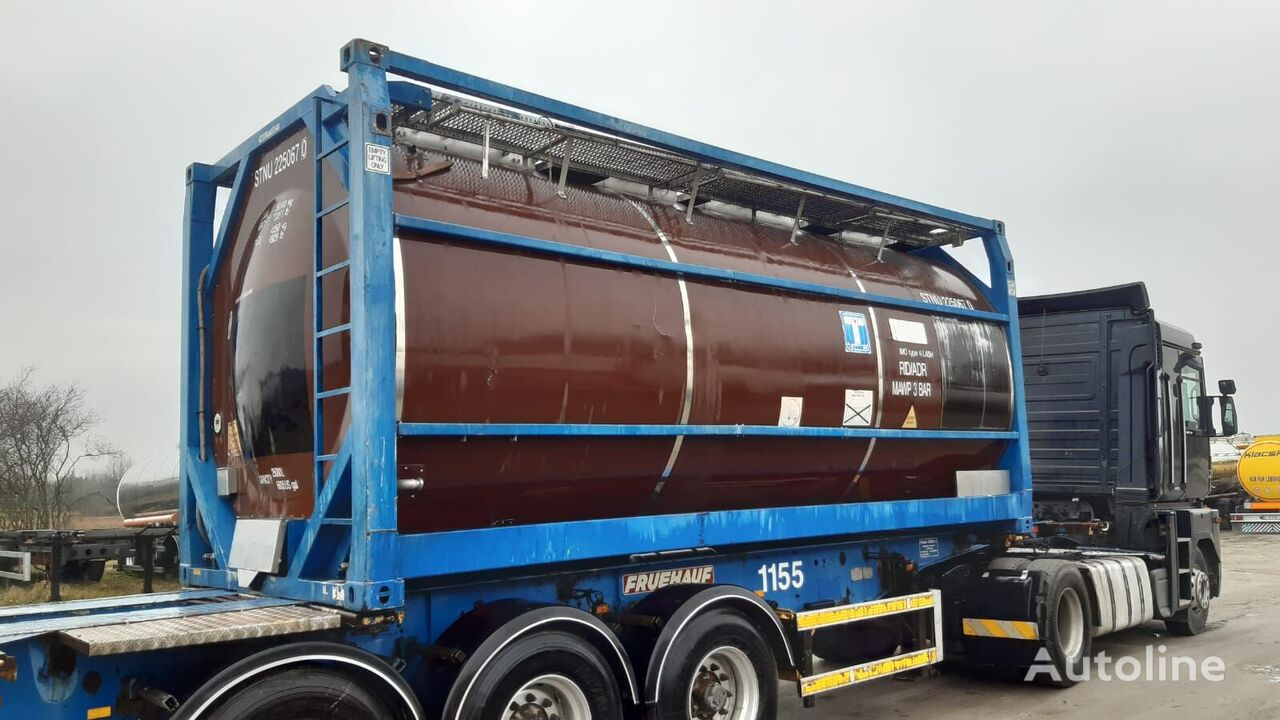 Welfit Oddy 20ft tank container
