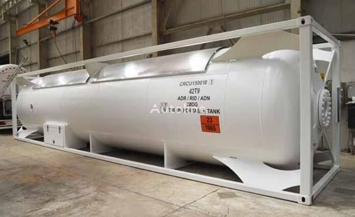 new Kriogennyy 20ft tank container