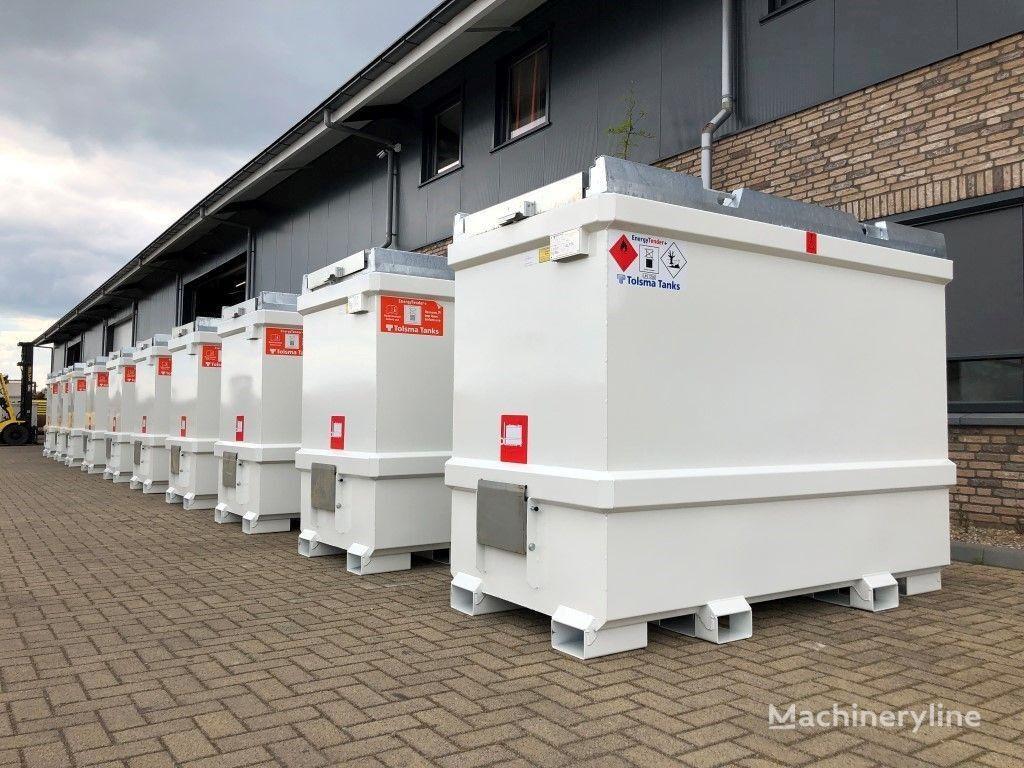 new Tolsma Kiwa IBC 3000 liter dieseltank nieuw ! intermediate bulk container
