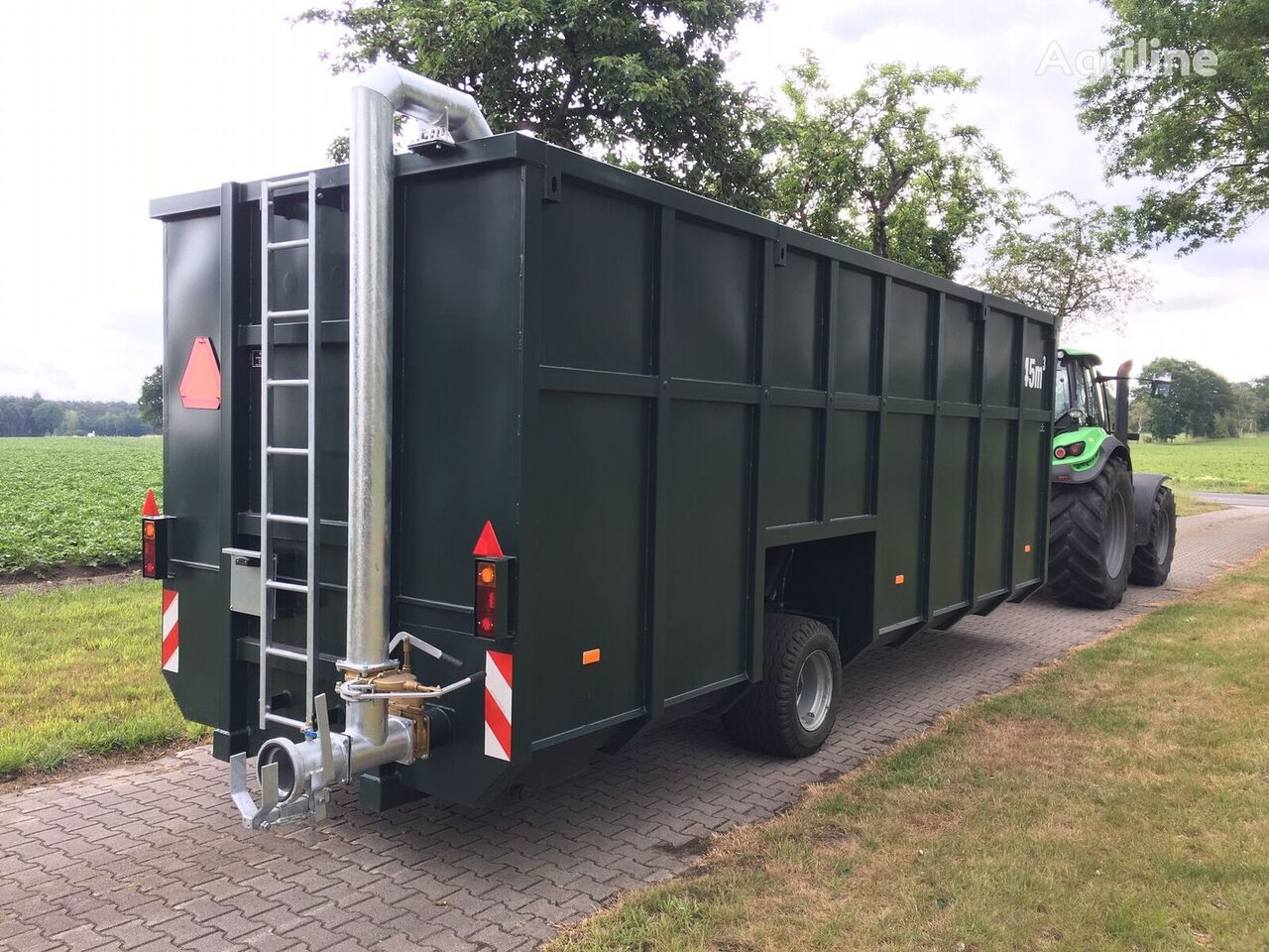 new STP 45 cbm³ other special container