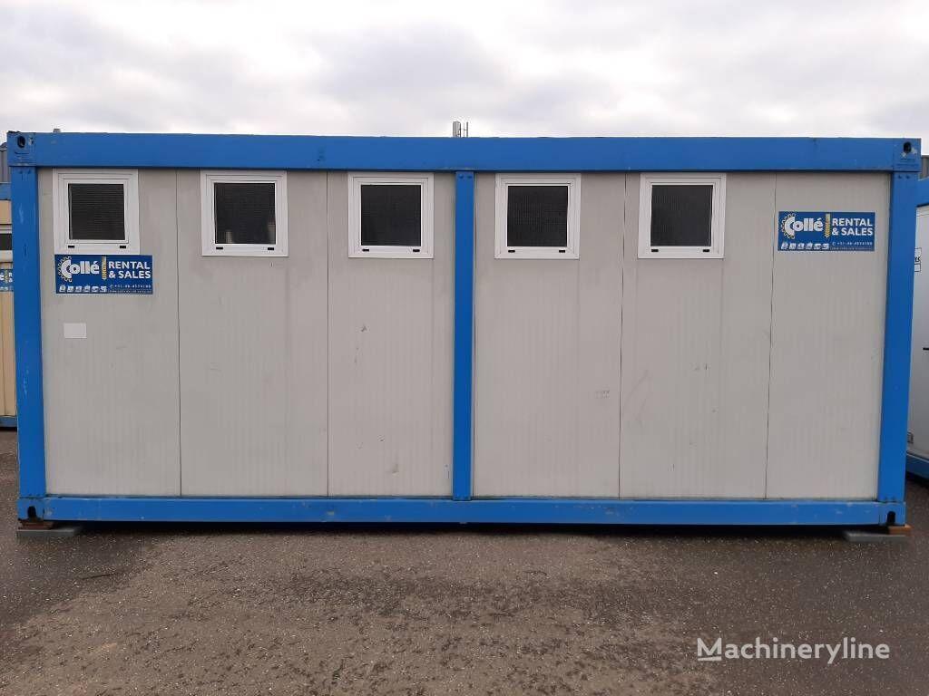 Douche unit shower unit sanitary container