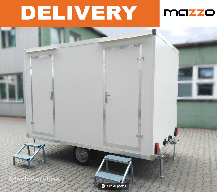 new Portable / event trailer WC Dusch-Container sanitary container