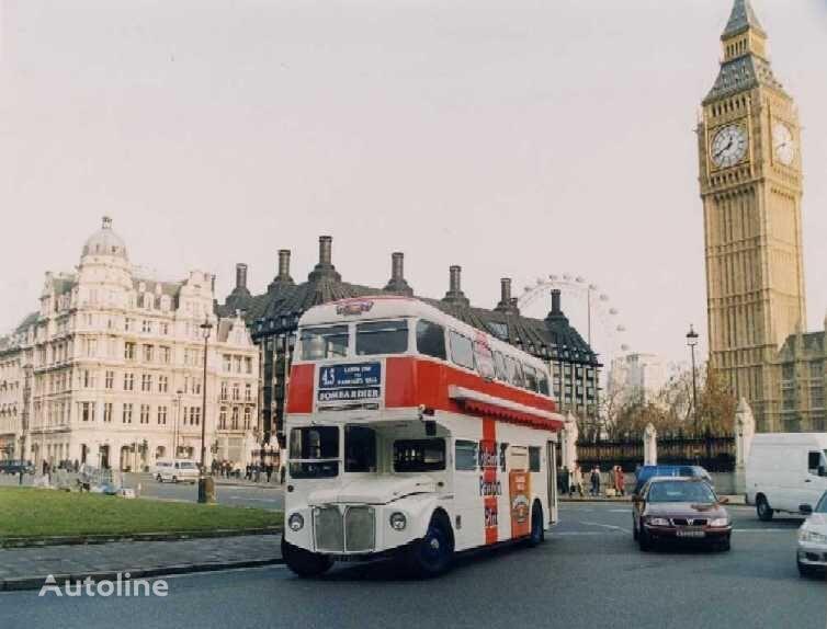 BRITISH BUS mobile BAR & PUB  double decker bus