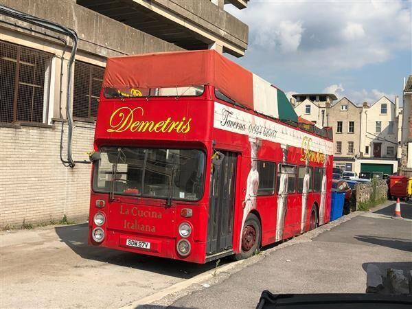 Daimler Fleeline open top bus double decker bus