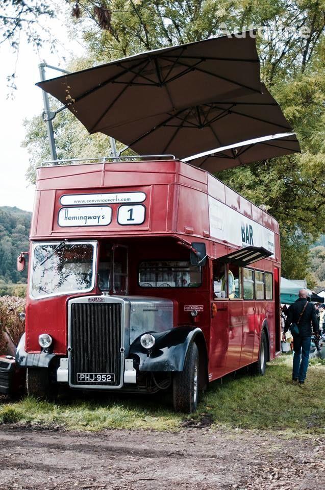 Leyland PD3 British Double Decker Bus Open Top Deck  Pub Bar Hospitality double decker bus