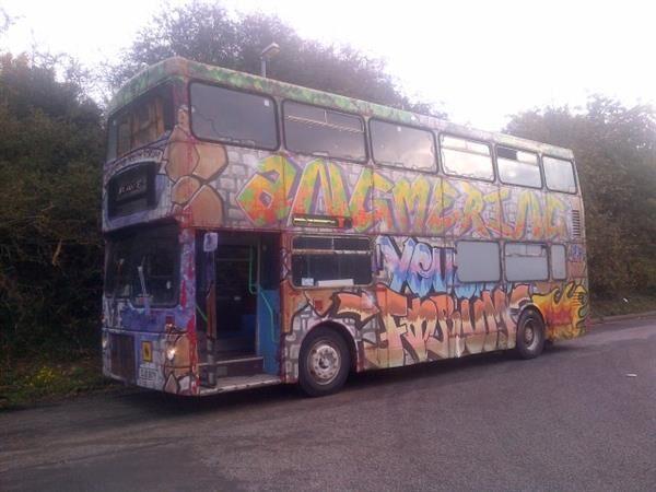 MCW DOUBLE DECK OUTREACH BUS double decker bus