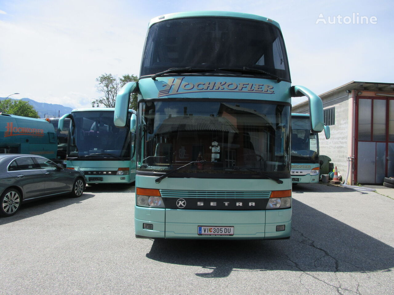 SETRA S328 double decker bus