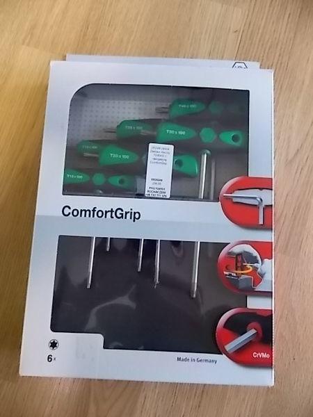 Zestaw kluczy TORX z rękojeścią ComfortGrip. automotive tool