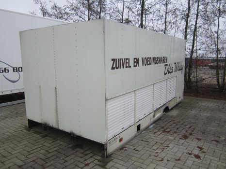 DIVERSE container box body