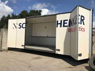 VOLVO m arba 13,5x2;5x3 box truck body