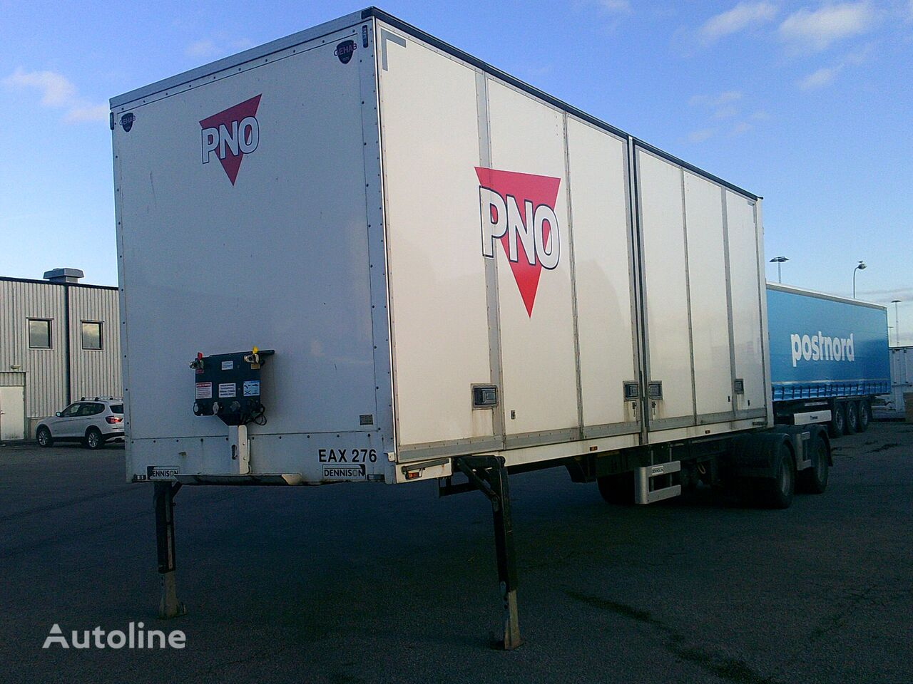 DENNISON LINK BOX OPENSIDE - EAX 276 box truck body