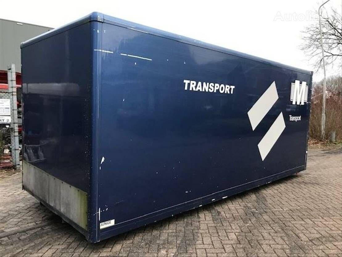 Diverse LAADBAK box truck body