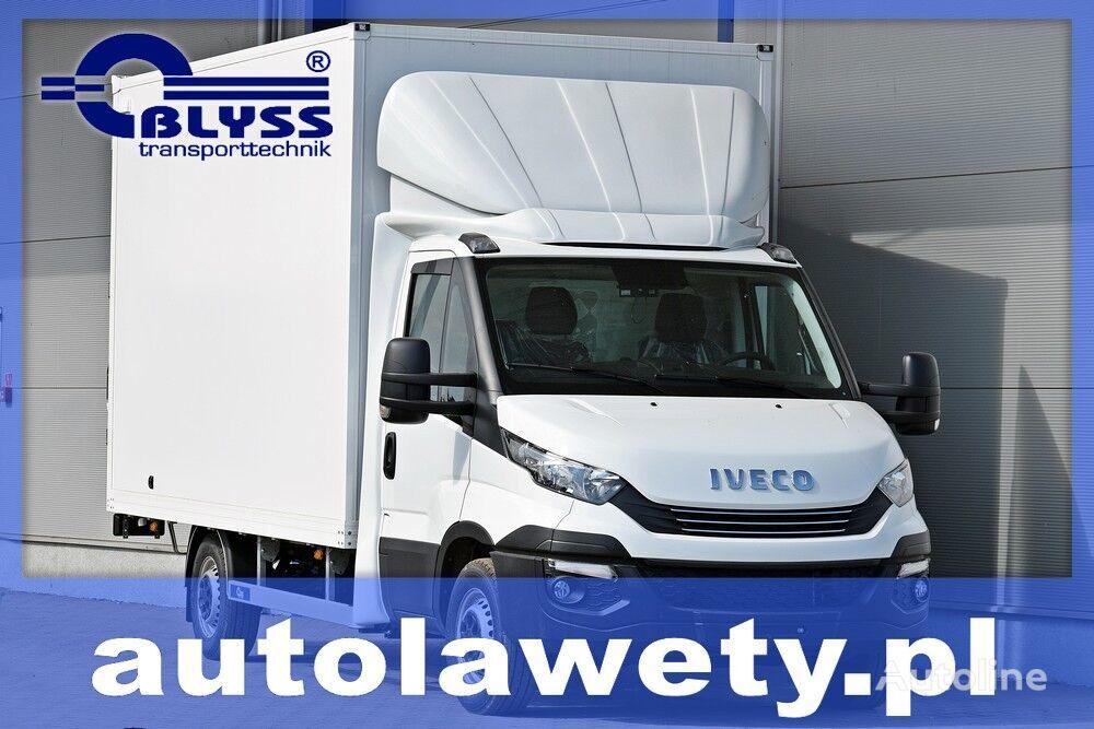 new IVECO DAILY ZABUDOWA KONTENER SKRZYNIA HOMOLOGACJA 3,5 box truck body