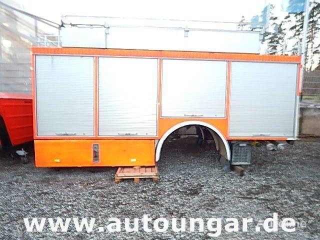 MERCEDES-BENZ Schlingmann Feuerwehr Aufbau m Rosenbauer Pumpe 24/8 box truck body